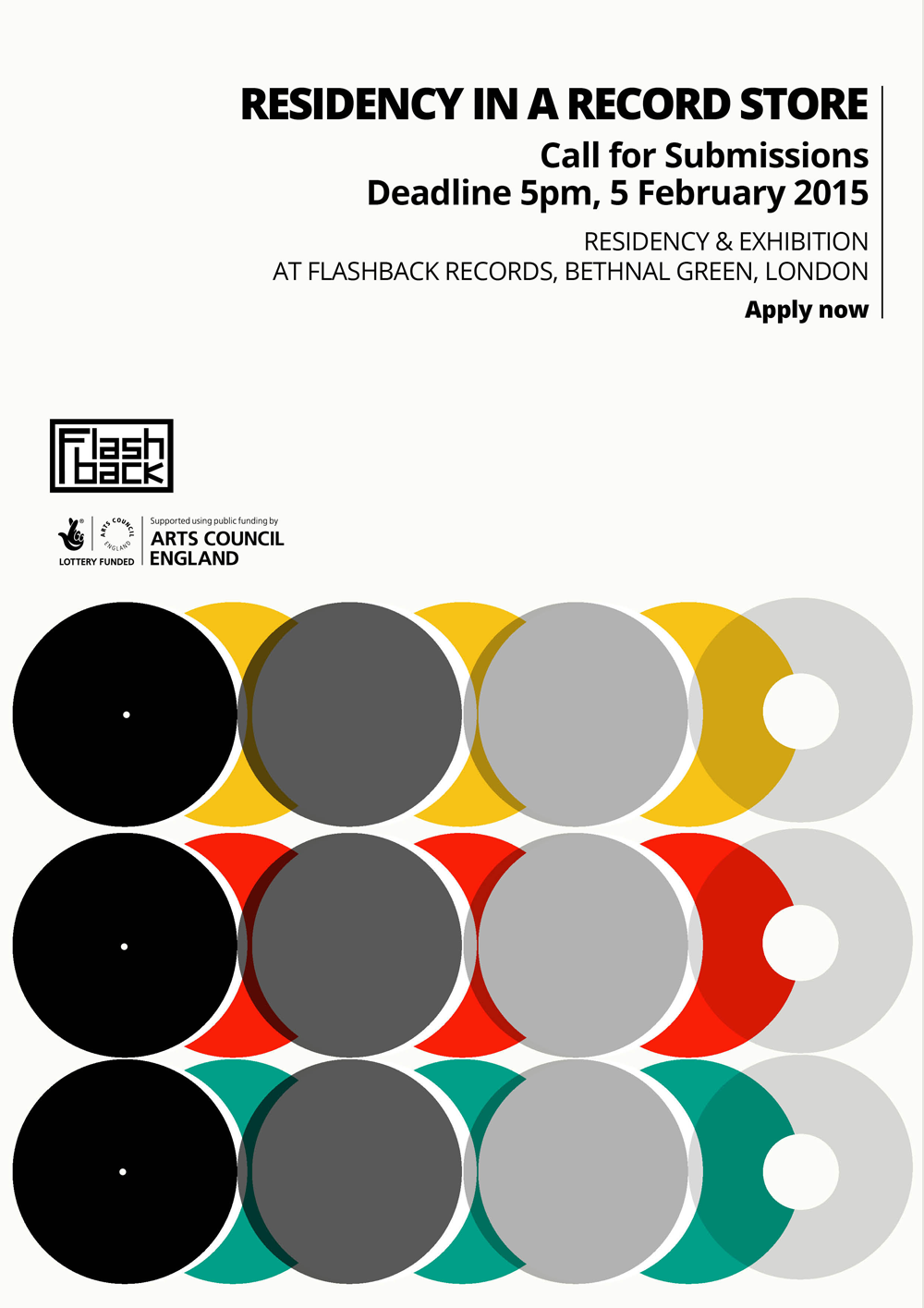 Record Store Residency Flyer