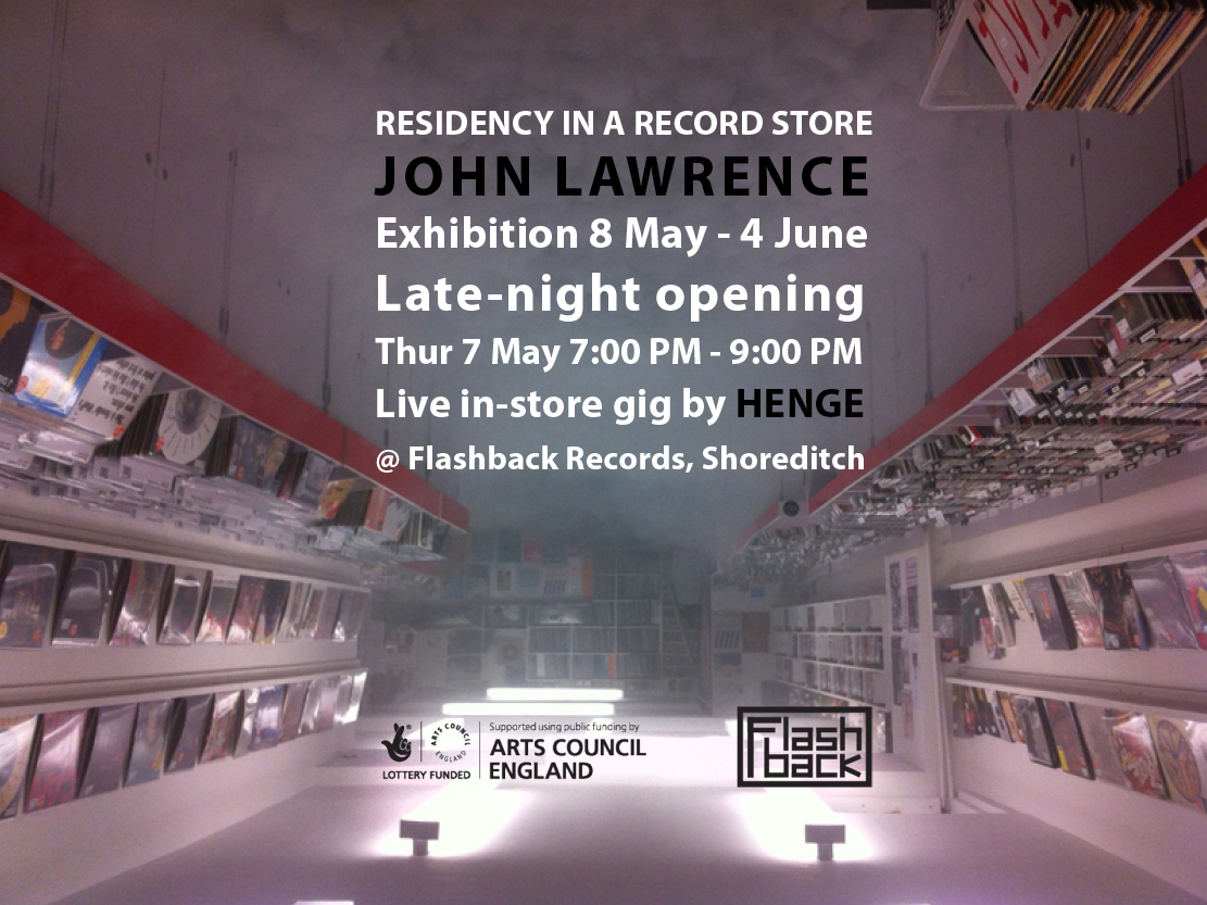 John Lawrence event flyer