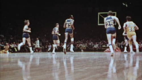 basketball game vintage