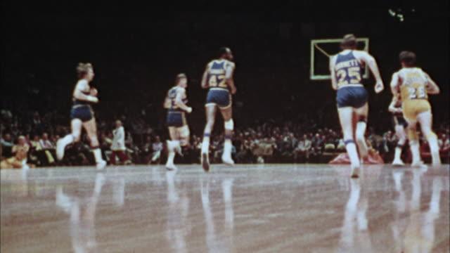 basketball game vintage